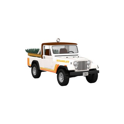1982 CJ-8 Scrambler Hallmark Ornament