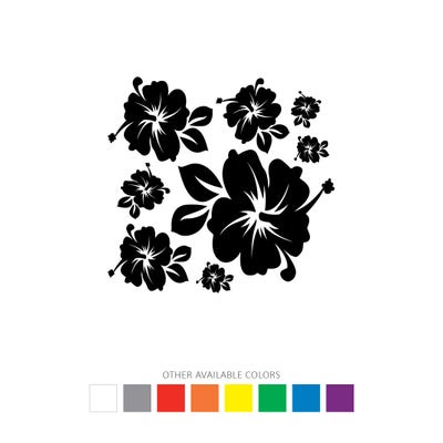 Flowers Decal Graphics