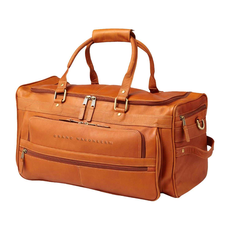 Grand Wagoneer Leather Duffel