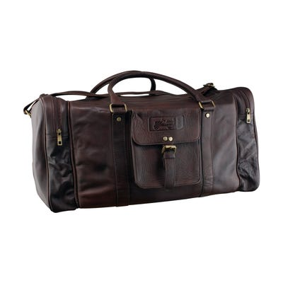 80th Anniversary Leather Duffel