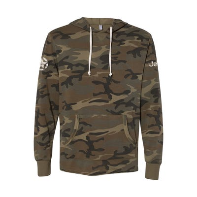 Camo French Terry Hooded Sweatshirt