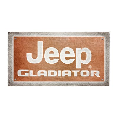 Gladiator LED Sign