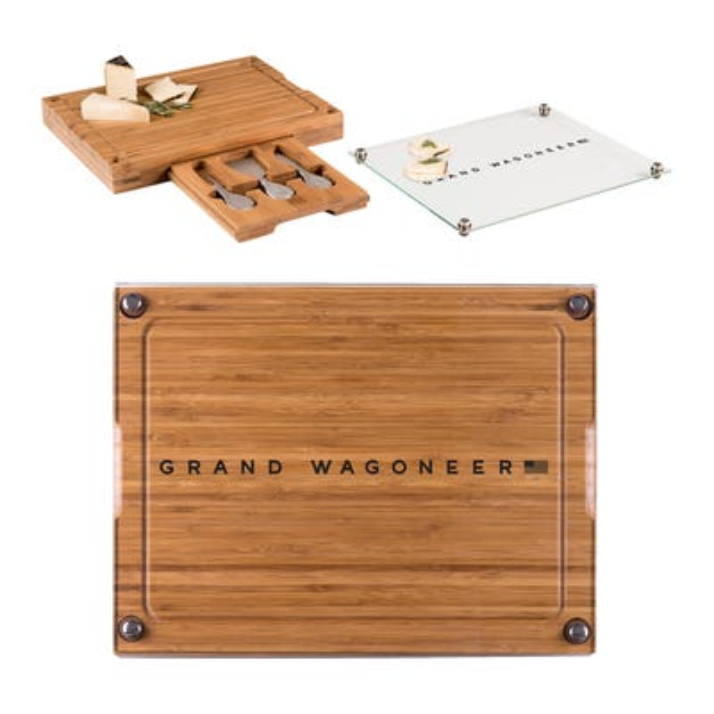 Grand Wagoneer Glass Top Cutting Board & Tools