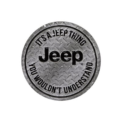 It's a Jeep® Thing Embossed Tin Magnet