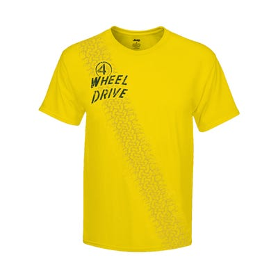 "Men's ""4-wheel"" Drive T-shirt"