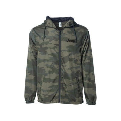 Men's Camo Wind Jacket