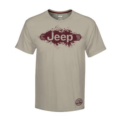 Men's Mud Print T-shirt