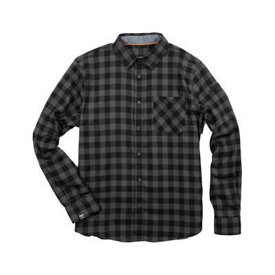 Men's Stretch Woven Flannel Shirt