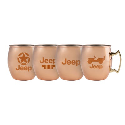 18 oz Moscow Mule Set of 4