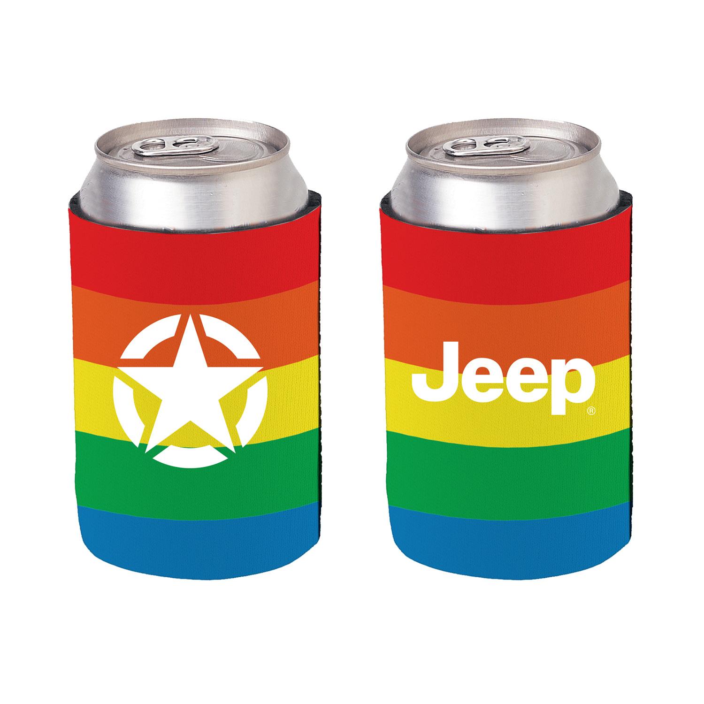 Pride Rainbow Koozie