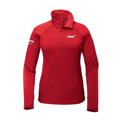 (PRODUCT)RED The North Face® Women's Mountain Peaks 1/4 Zip Fleece