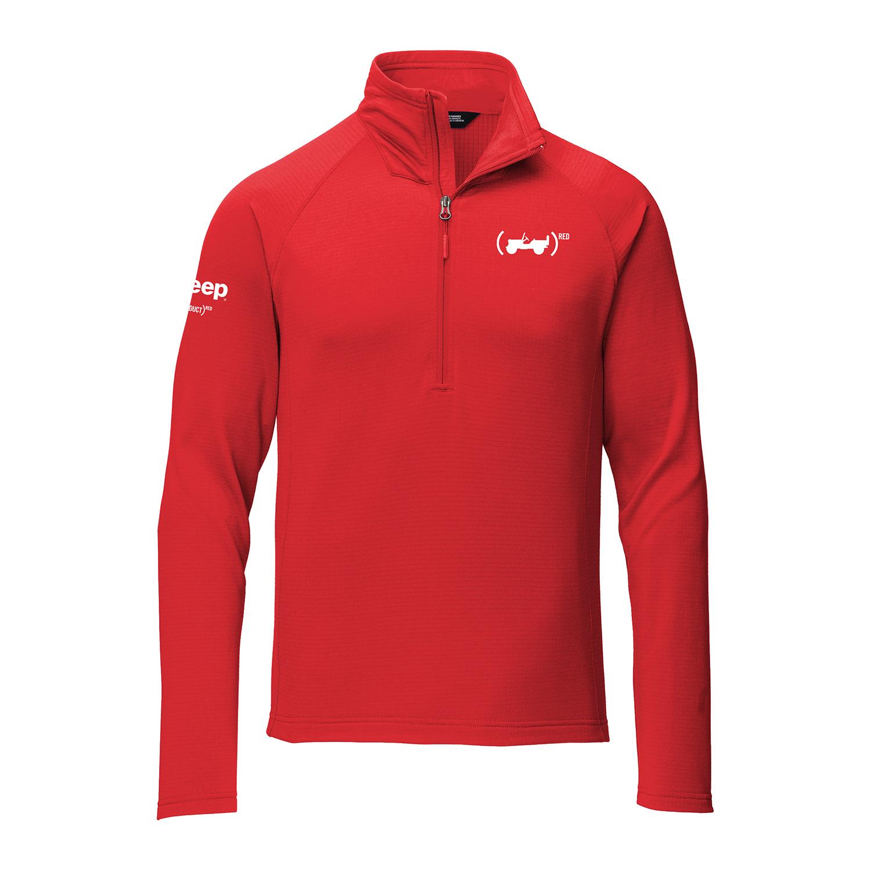 (PRODUCT)RED The North Face® Men's Mountain Peaks 1/4 Zip Fleece