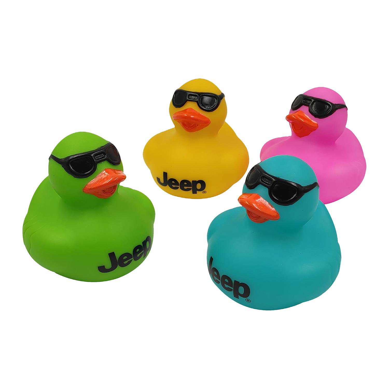 Rubber Ducks with Sunglasses (4pk)