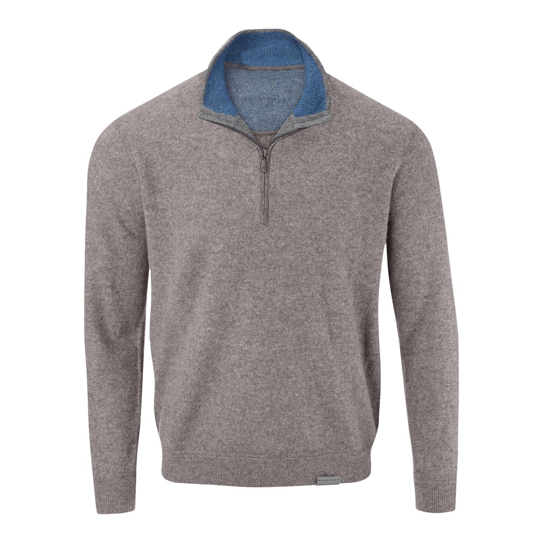 Wagoneer Men's Cashmere Half Zip Sweater