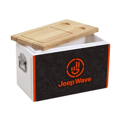 Jeep Wave® Wood Top Cooler