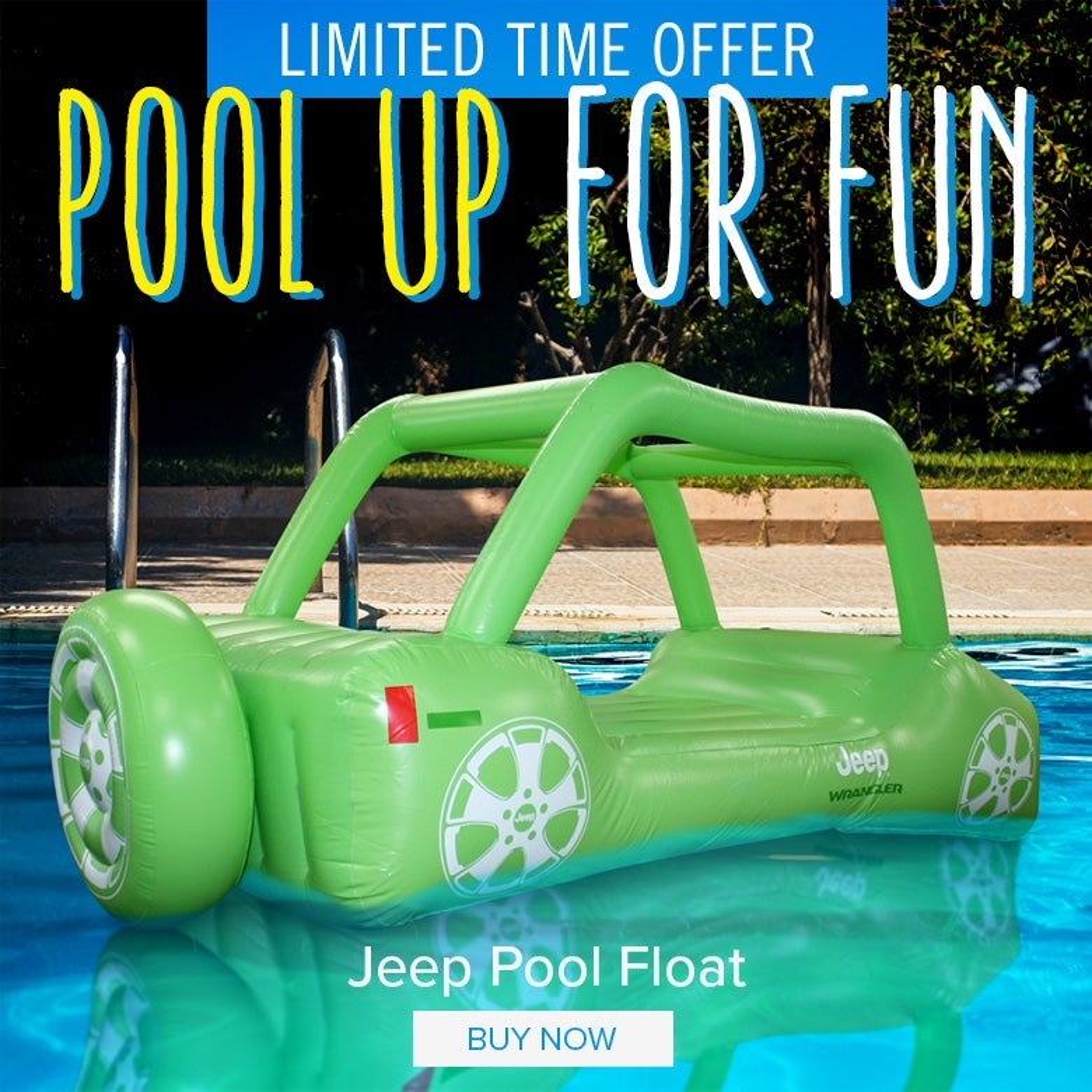 Jeep Pool Float