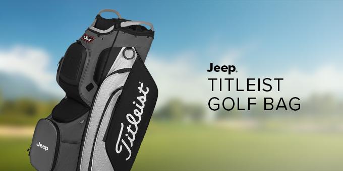Jeep® Titleist Golf Bag