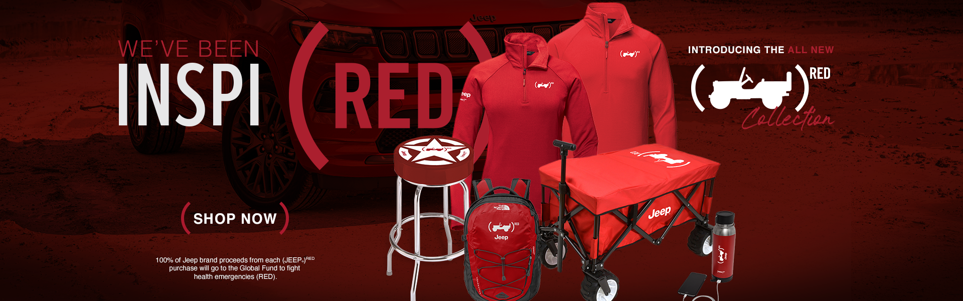 Introducing the Jeep(Red) Collection